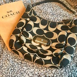 Coach 'Kristin' Signature Hobo Bag